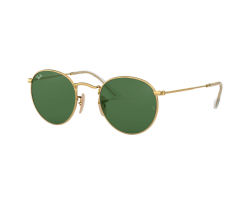 Ray Ban RB3447 001 54 Round Metal Gold