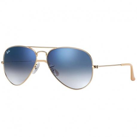 GOLD - crystal gradient light blue