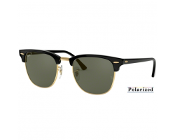 BLACK - crystal green polarized