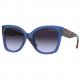 TRANSPARENT BLUE - violet gradient dark grey