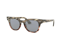 Ray Ban 2168 GREY GRADIENT BROWN STRIPPED - blue mir gold blue