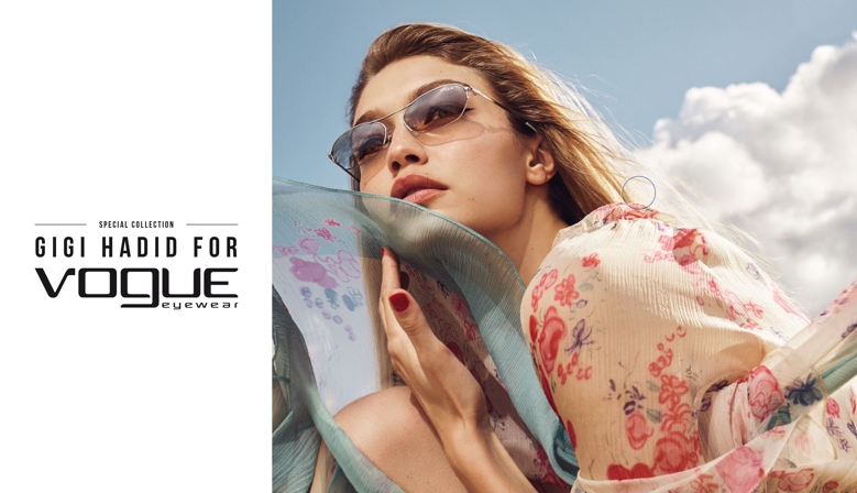 Gigi Hadid for Vogue Eyewear 2019 collection